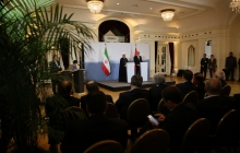 Press conference of Iranian and Swiss Presidents