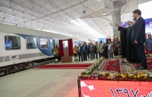 Urmia Railway starts operation in Dr Rouhani's presence