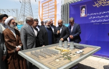 Opening 160-MW steam units of Shirvan Combined Cycle Power Plant