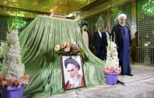 President, cabinet renew allegiance to Imam Khomeini's lofty ideals