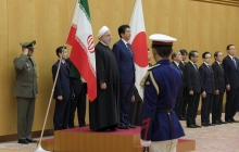 Japanese PM officially welcomes President Rouhani