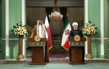Joint press conference with Emir of Qatar