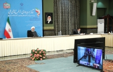 Inauguration ceremony of Ministry of Energy projects in Bushehr and West Azerbaijan