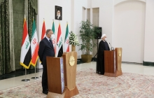 Joint press conference of the Iranian President and the Iraqi PM